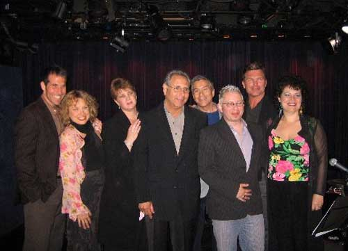 The Cast of The Bob Levy Show